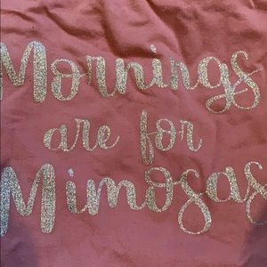 Tops - Mornings are for mimosas top
